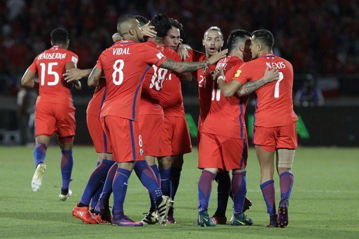 @Chile #LaRoja #Chile #SelecciónChilena #9ine