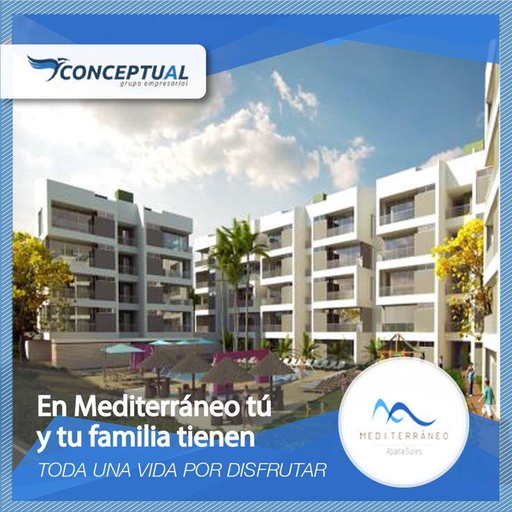 Cuando de invertir en vivienda se trata nosotros tenemos la mejor opción para ti, date el gusto de comprar un aparta suite en Mediterráneo.