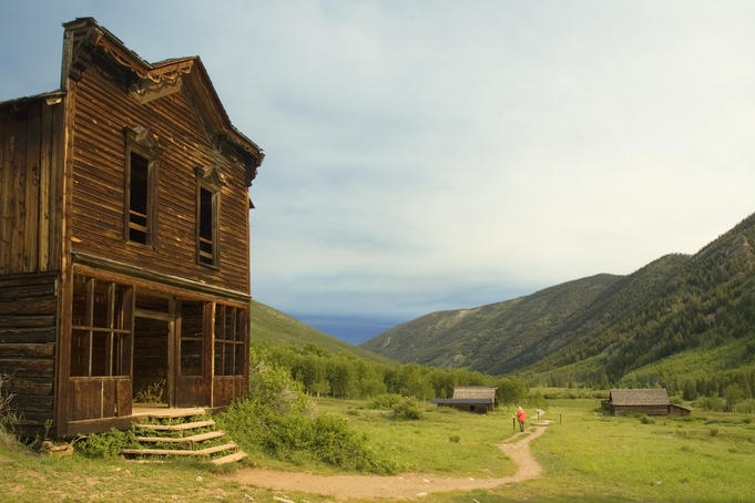 Hotel at 19th century silver mining town, Ashcroft Ghost Town, near Aspen.    Read more: http://www.lonelyplanet.com/usa/california/travel-tips-and-articles/77160#photo-26199-10#ixzz1tae2JrO8