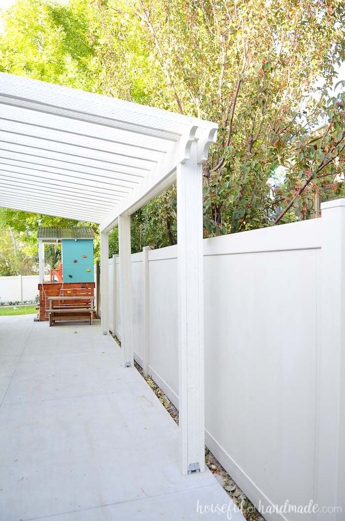 Build A Patio Pergola Attached To The House Building A Patio Building A Pergola Pergola