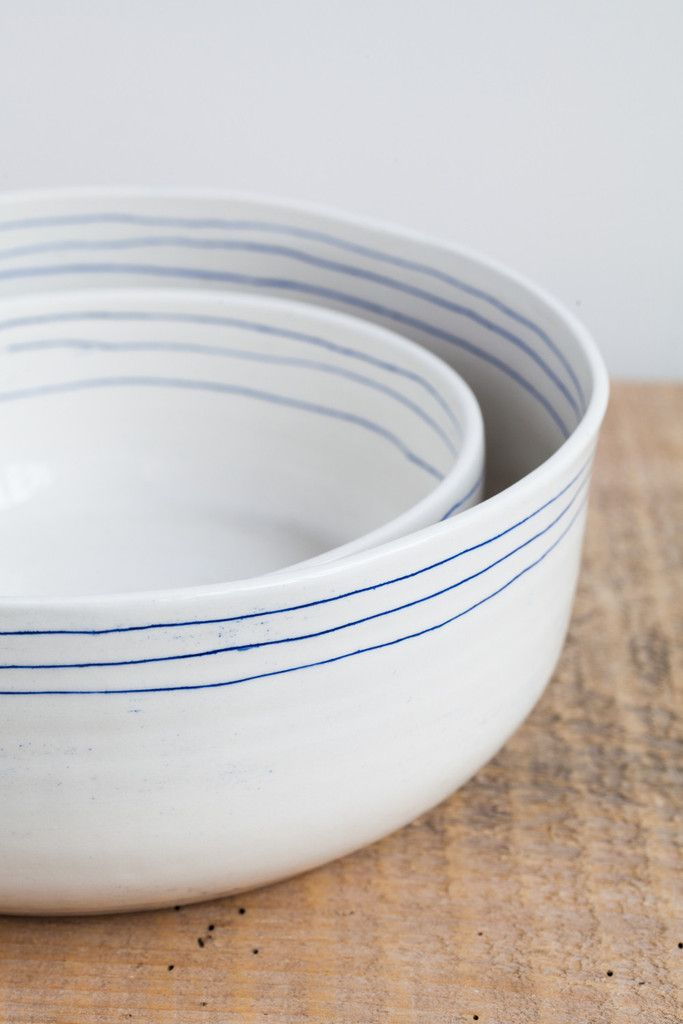 Paula Greif Ceramic Nesting Bowls   Oroboro Store
