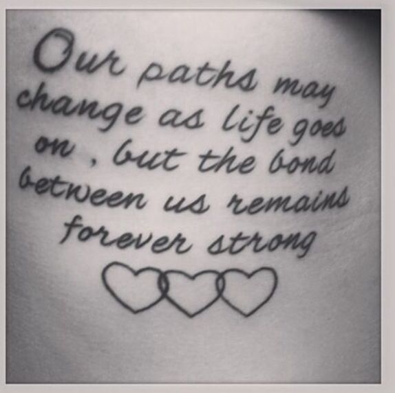 Possible best friend tattoo????