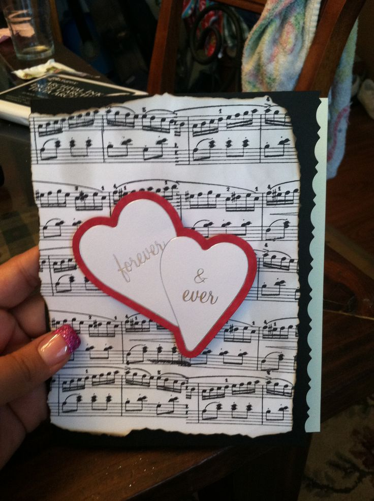Homemade Anniversary Ideas For Husband: 51 Best Images About Homemade Cards On Pinterest