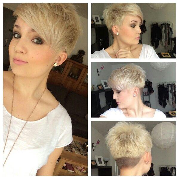 Cute haircut