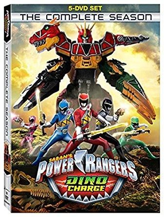 James Davies & Michael Taber - Power Rangers Dino Charge: The Complete Season