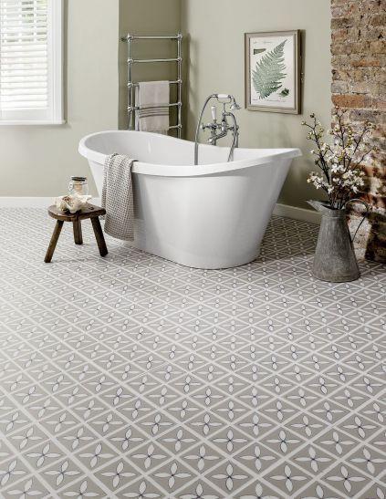LATTICE, płytki winylowe, projekt: Dee Hardwicke, 209 zł/m2 HARVEY MARIA. #lazienka #toaleta #inspiracje #wnetrza #dom #kran #słuchawka #łazienki #kabina #wanna #mieszkanie #willa #projektowanie #architektura #design #interior #bath #shower #bathroom #inspiration #ideas #white #modern #2018 #glamour #style