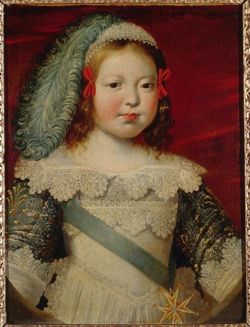 Portrait of the dauphin Louis, future Louis XIV (1638-1715) circa 1641-1642, attribué à Claude Deruet (1588-1660).
