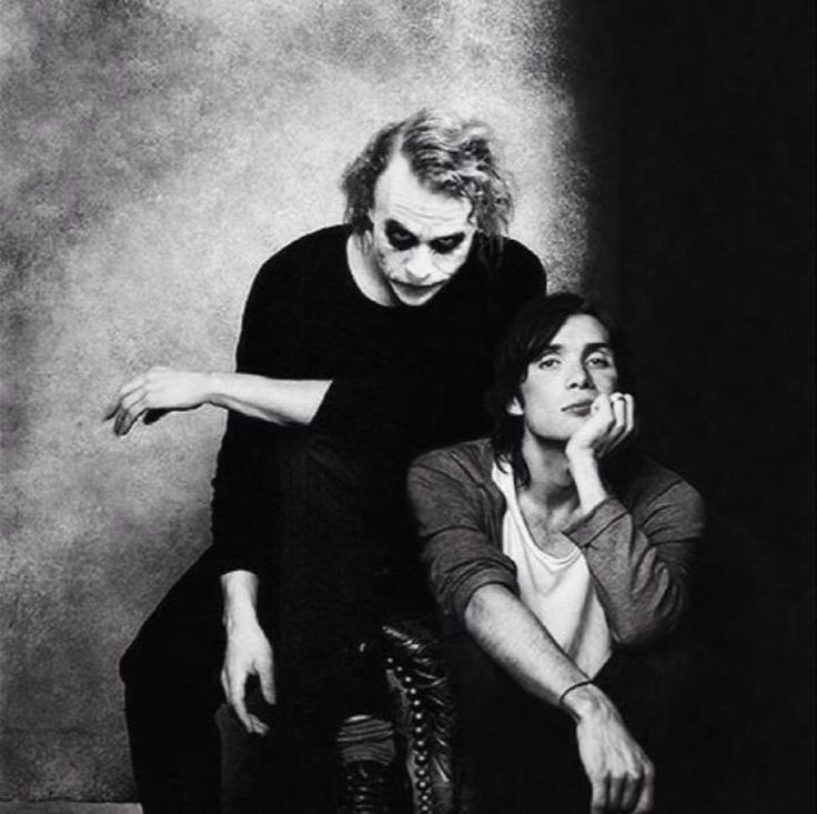 Heath Ledger & Cillian Murphy
