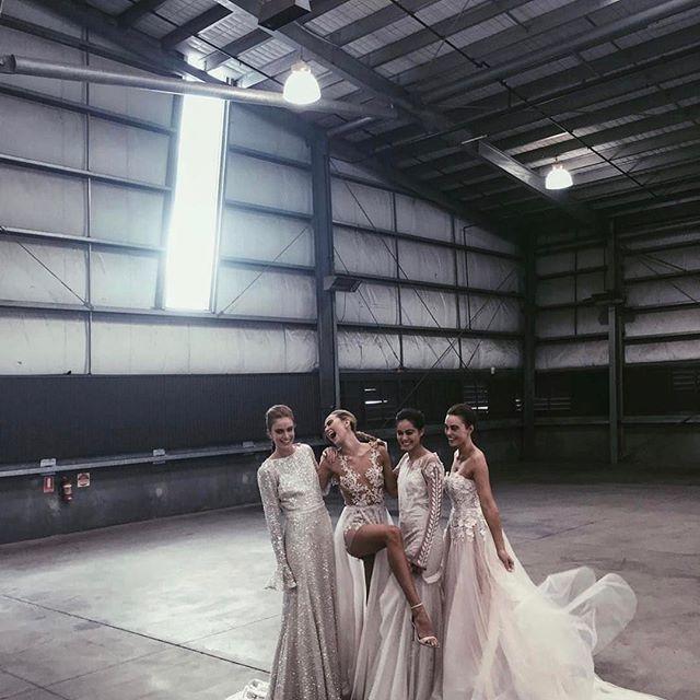 What a bunch of babes ⚡️ @onefinedayweddingfairs || repost from @mikaelajadeschreuder || #makeupbysophieknox #onefinedaymelbourne