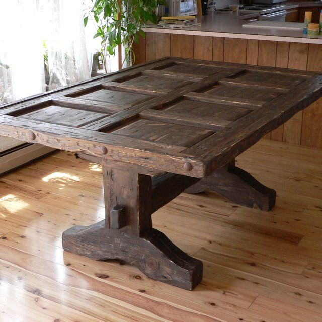Best 25+ Distressed Dining Tables Ideas On Pinterest