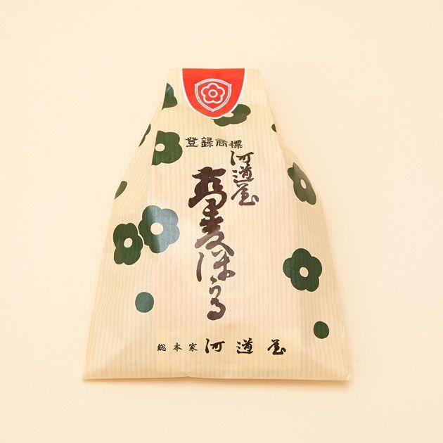 京都・丸太町 河道屋 蕎麦ぼうろ Sobaboro, Kawamichiya, Kyoto Japan