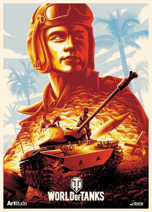 ARTtitude X Word of Tanks - A l'occasion du 4ème anniversaire de World Of Tanks sur console, Wargaming a commandé au collecitf ARTtitude 4 posters exclusifs. Ces posters sont proposés en séries limitées (15 exemplaires de ...