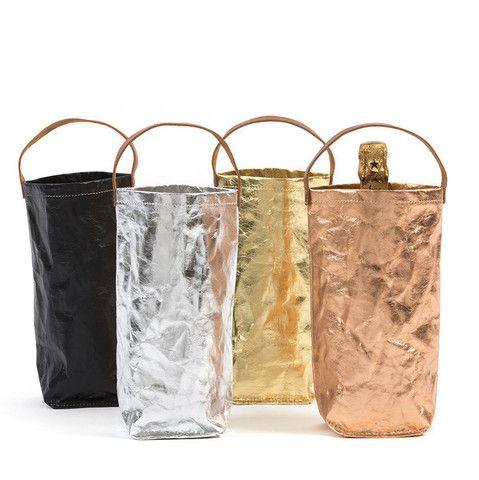 Metallic Wine Bag – THAT LITTLE SHOP
