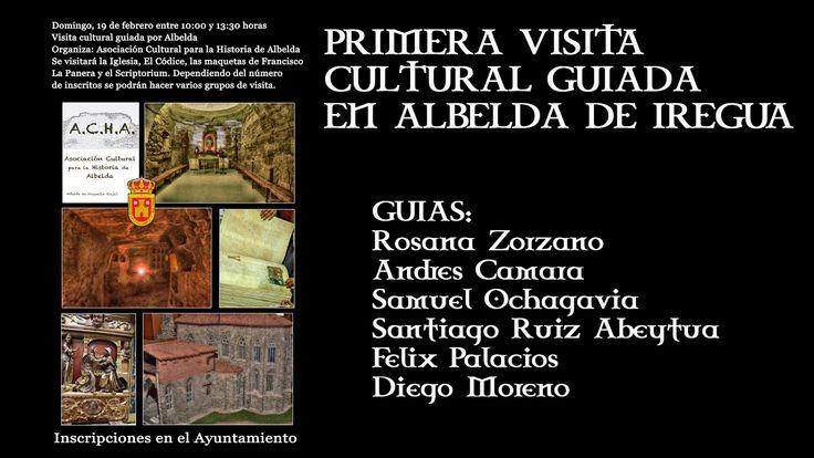 Primera visita cultural guiada en Albelda de Iregua 2017