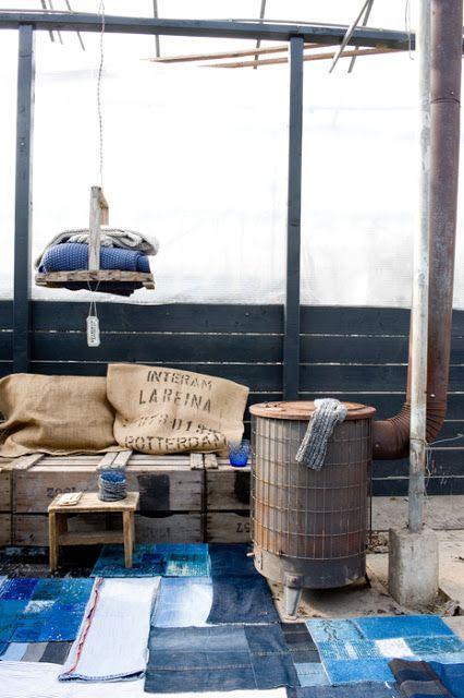 EN MI ESPACIO VITAL: Muebles Recuperados y Decoración Vintage: marzo 2012