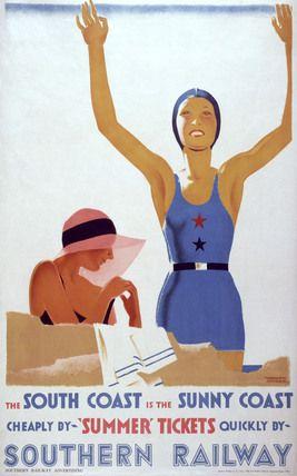 Southern Railways, Railway Poster
