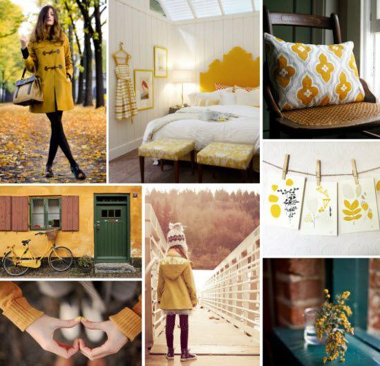 Mood Board Monday: Mustard Yellow