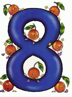 Imagenes de numeros para imprimir