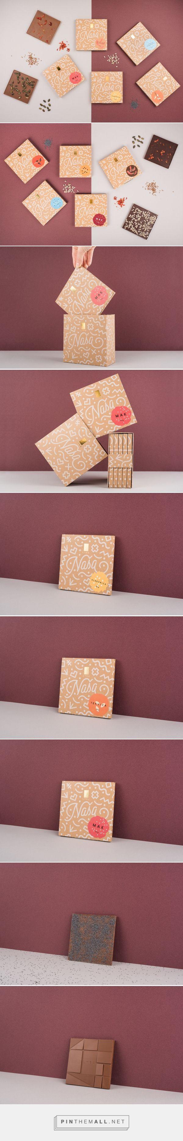 NAŠA LYRA Chocolate - Packaging of the World - Creative Package Design Gallery - http://www.packagingoftheworld.com/2018/01/nasa-lyra-chocolate.html
