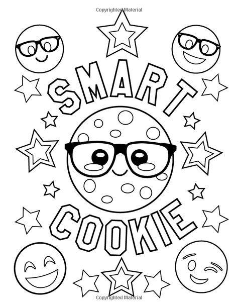 Amazon.com: Emoji Coloring Book of Funny Stuff, Cute Faces