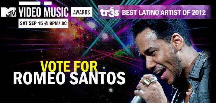 Romeo Santos nominado a MTV Video Music Awards | • Descargar Gratis En MuyMusica.com