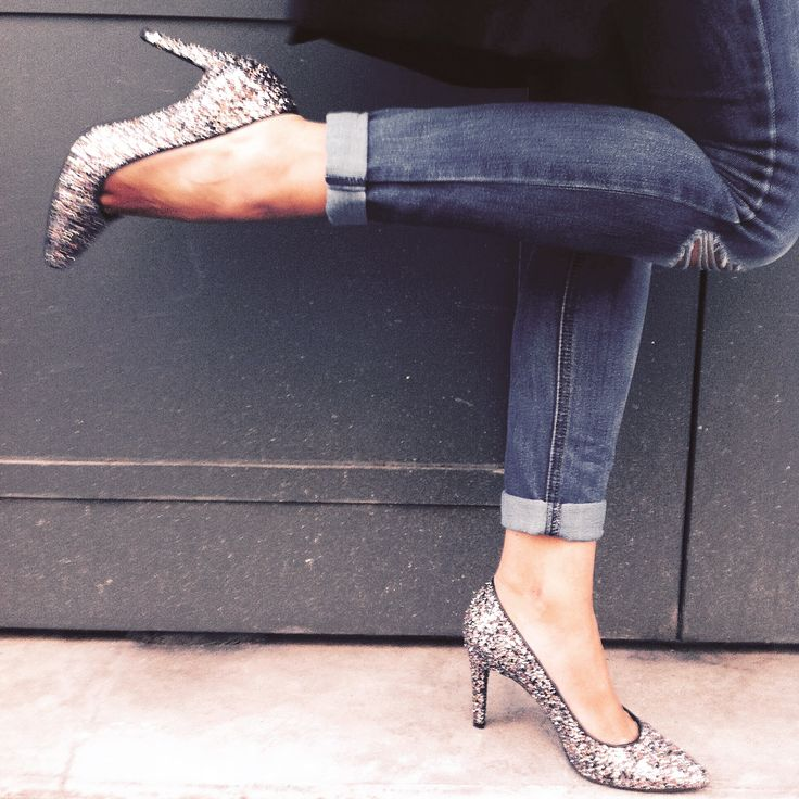 Mes escarpins glitter #nafnaf#paillettes#shoes#mode#blog#fashion#ootd#nafnafparis#nouvellecollection