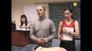 Огулов А.Т. — Видео  Хиропрактика - тестирование и лечение пациента