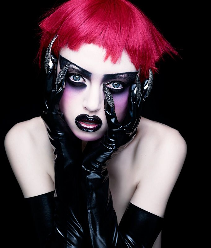 Rankin - Portfolio make up goth gothic