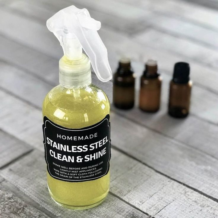Stainless steel polish diy products cleaning hygiene - Diy bathroom cleaner essential oils ...