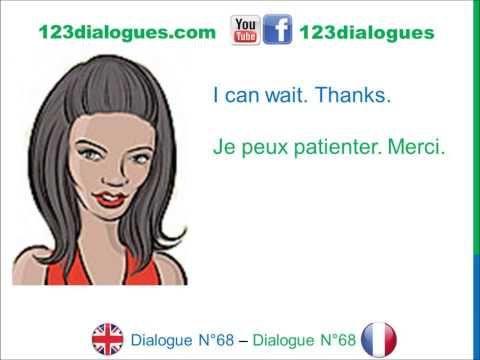 Dialogue 68 - English French Anglais Français - Answer a phone call - Répondre au téléphone - YouTube