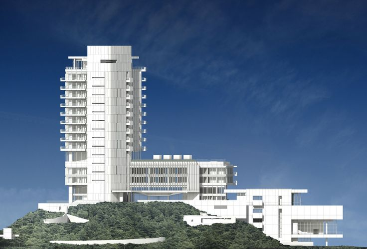 richard meier finalizes seamarq hotel in south korea