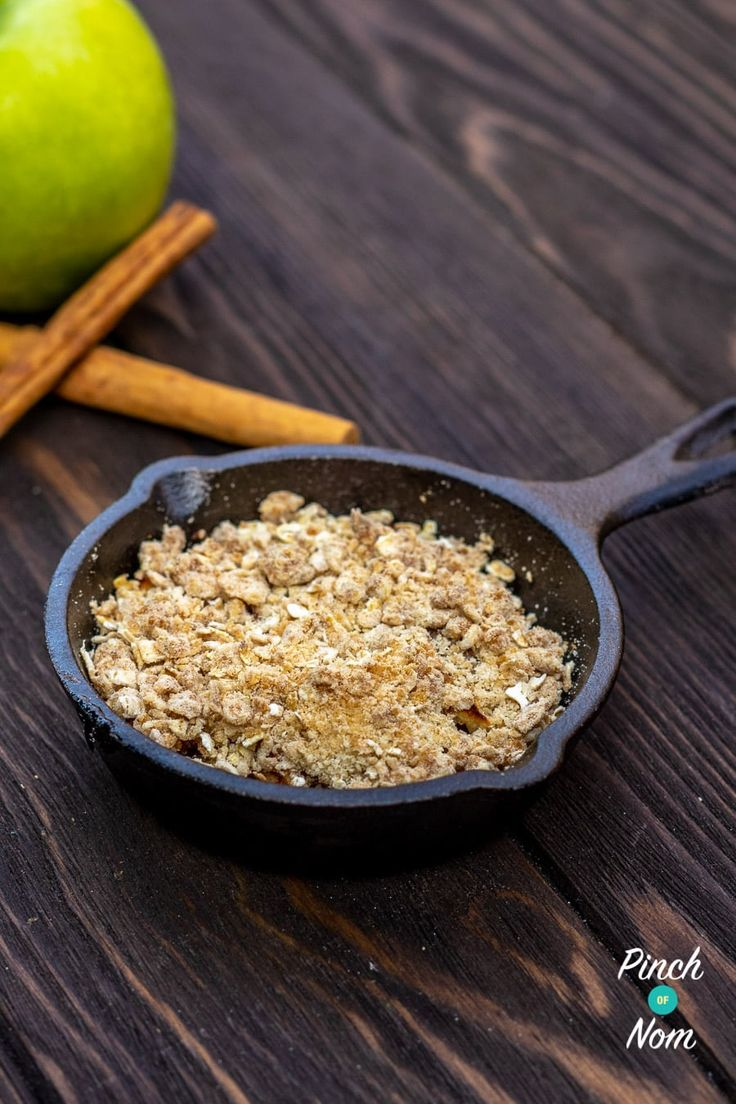 Low Syn Apple Crumble Slimming World Pinch Of Nom