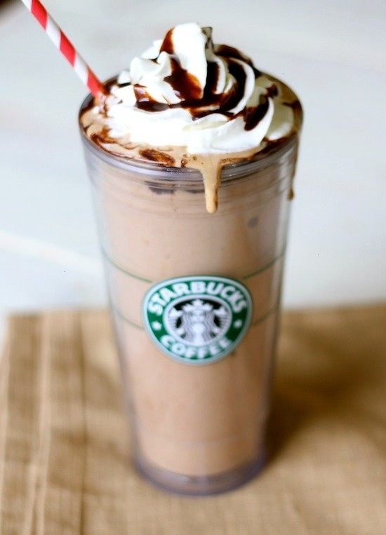 Skinny starbucks frappuccino! | the good stuff | Pinterest