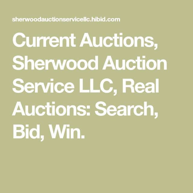 Current Auctions Sherwood Auction Service Llc Real Auctions Search Bid Win Online Auctions Future Travel Canadian Lakes