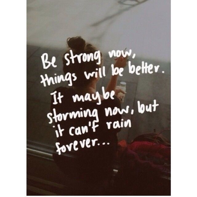 Sad Quotes About Depression: Best 25+ Be Strong Ideas On Pinterest