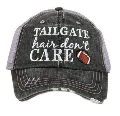 8a740765c2537 Katydid Tailgate Hair Don t Care Embroidered Trucker Hat – Taste of Country  Store
