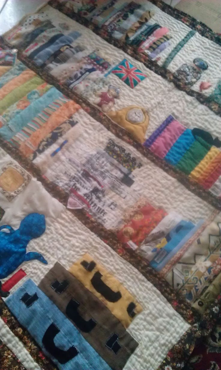 just one more patch of hand quilting to go on my book quilt