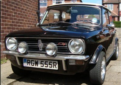 Mini Clubman 1275 GT. Great car, I had one. Sold it, to part finance first house. Gutted !!