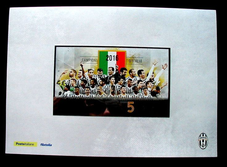 2016 Italy soccer football official folder JUVENTUS Team Torino 5th Championship  | eBay