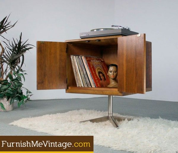 Images About Vinyl Record Furniture Pinterest Vinyls Mid Century Modern And