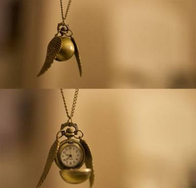 Harry Potter golden snitch pendant necklace. Love this