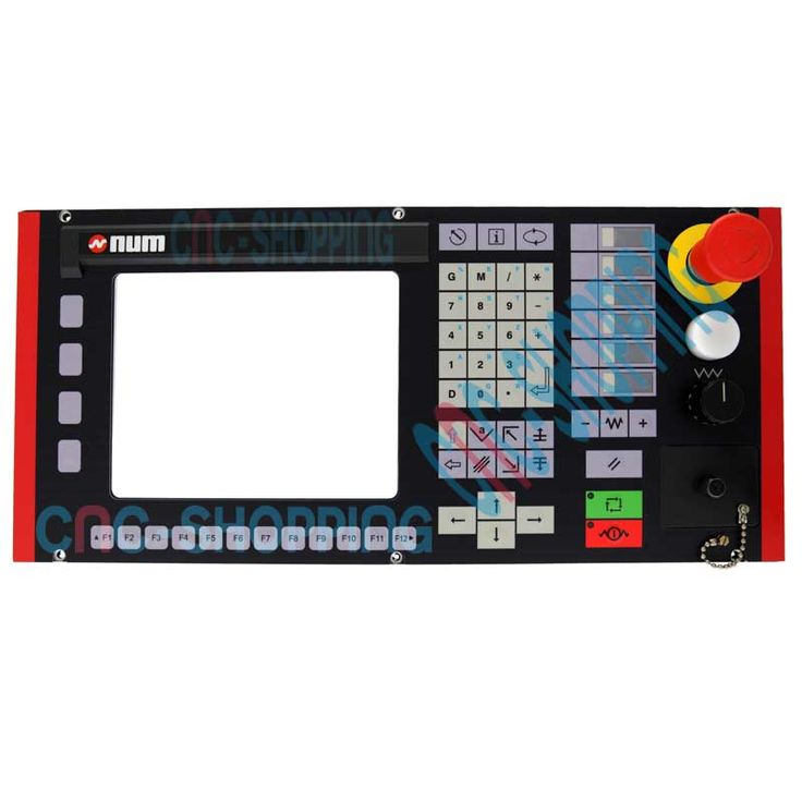 NUM 1060 Operator panel keyboard NUM CP10F Repair, Surplus and Test at Cnc-shopping.