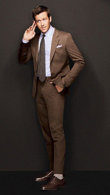 17 best ideas about Brown Suits on Pinterest | Men's grey suits ...