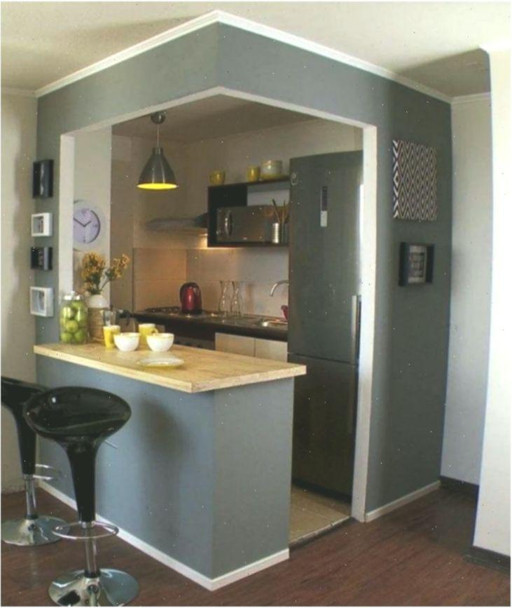 35 Outstanding Small Kitchen Studio Designs For Comfort Studio Kitchen Dining Room Design Very Small Kitchen Design