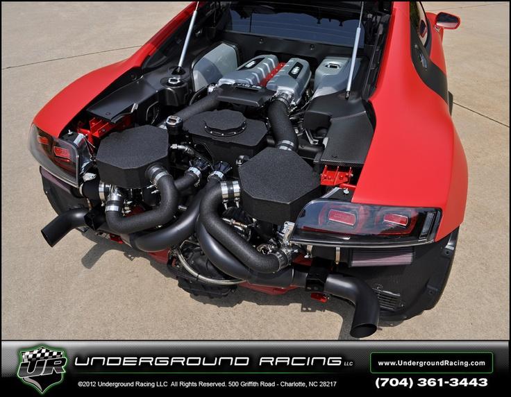 Underground Racing Twin Turbo R8 GT