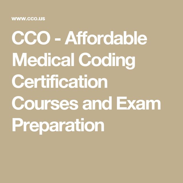 CCO - Affordable Medical Coding Certification Courses and Exam Preparation
