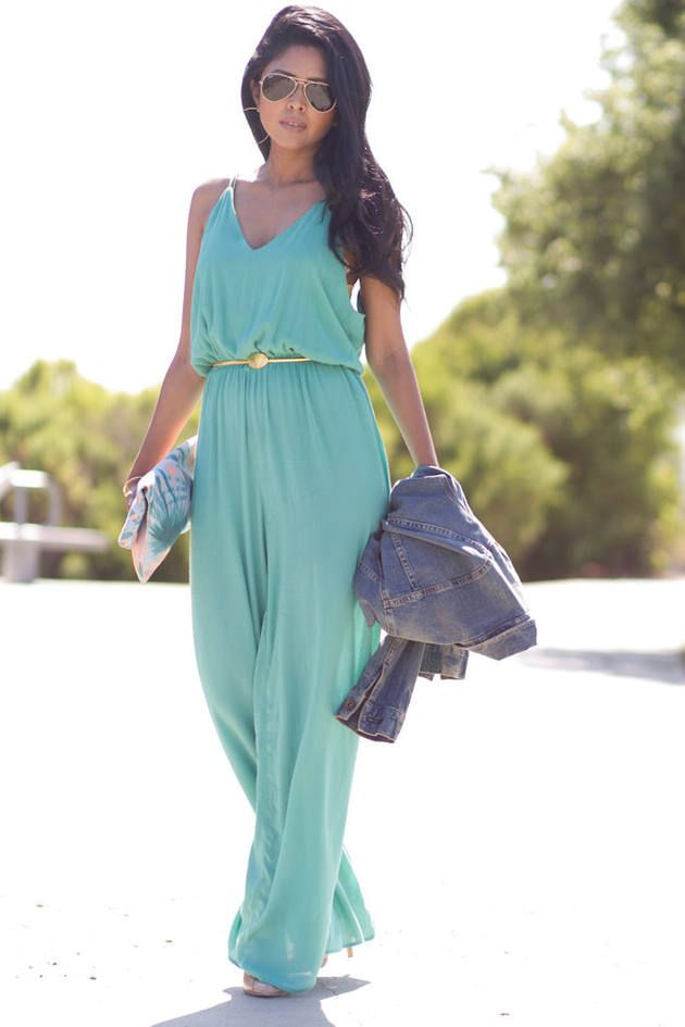 Fresh Mint Jumpsuit