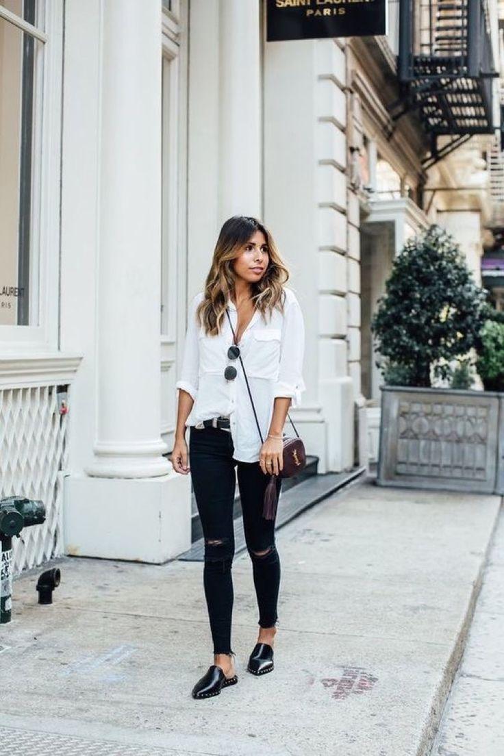 28 Looks En Blanco Y Negro Que Te Encantarán   Cut & Paste – Blog de Moda