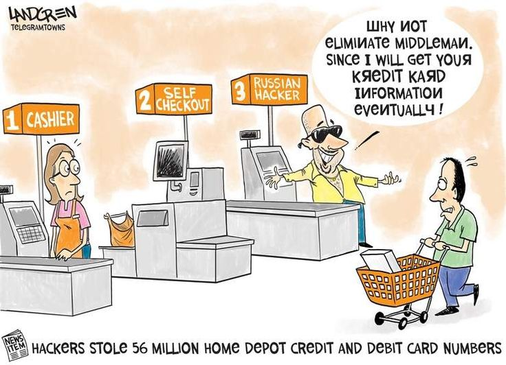 Credit card breach home depot editorial cartoons for 0 home depot credit card