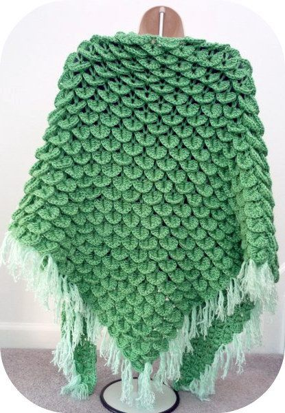 Free+Shell+Stitch+Crochet+Pattern | PATTERN CROCHET SHAWL SHELL CHAIN STITCH | Easy Crochet Patterns